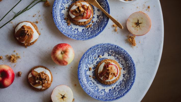 kauraiset omena-karamellileivokset